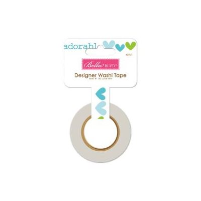 Bella Blvd Cute Baby Boy Washi Tape Love Him