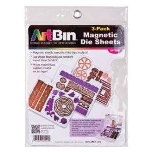 "ArtBin Magnetic Sheets 3 / Pkg 7.325""X9.125"""