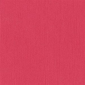 """Bazzill Fourz Cardstock 12""""X12"""" Passionate / Grass Cloth"""